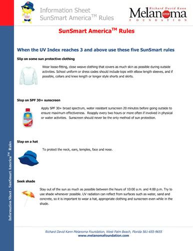SunSmart America™ Rules