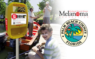 """RAY"" Saves Lives! First Sunscreen Dispenser to be placed in a public park in Palm Beach County."