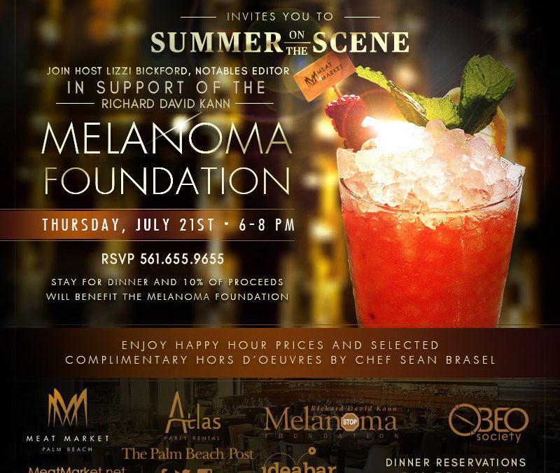 "The Palm Beach Post & Notables Invites You To ""Summer On The Scene"""