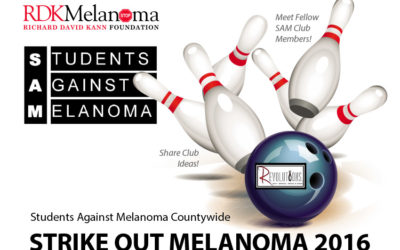 STRIKE OUT MELANOMA 2016 – Oct. 20 – At Revolutions