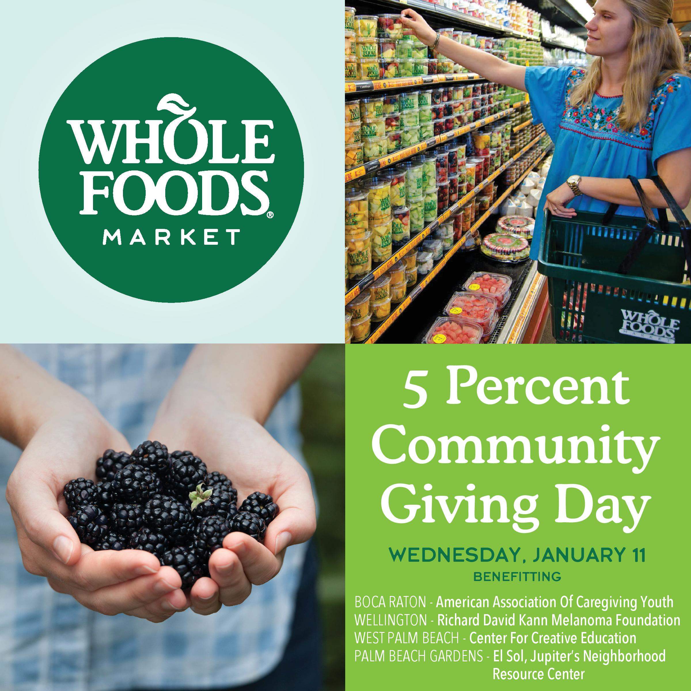 Rdk Melanoma Is Proud To Be A Recipient Of The Whole Foods
