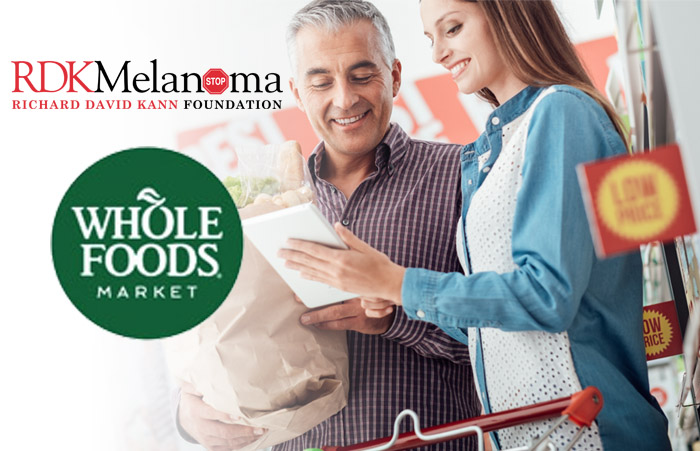 RDK Melanoma is proud to be a recipient of the Whole Foods 5% Charity Day.