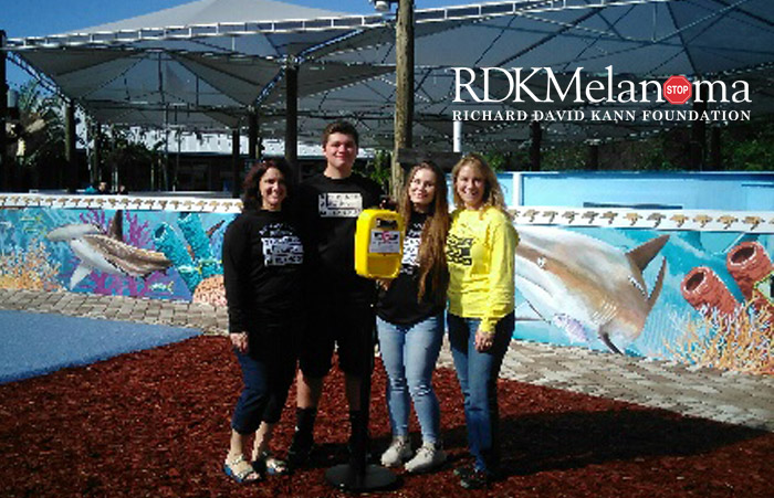Jupiter High School students, called RAY Band, is proud to announce that they have donated Sunscreen Application Machine's (SAM).