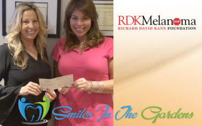 A special thank you to Smiles in the Gardens for their generous donation of $4,280 to RDK Melanoma Foundation!