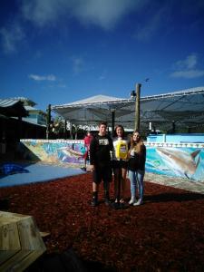 @Loggerhead Marine Center with Michelle and Jordan Borenstein -Shari and Seth Rogers