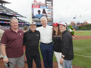 Richard David Karn Melanoma Foundation, Mayor Jim Kenney, Mike Schmidt-4